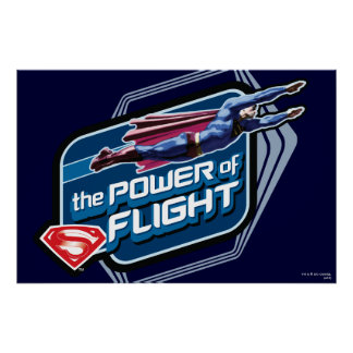 Superman The Power of Flight Poster