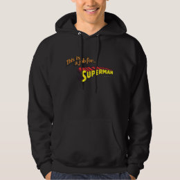 Superman | This is a job for... Logo Hoodie