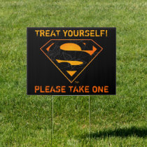 Superman | Treat Yourself to Halloween Candy Sign