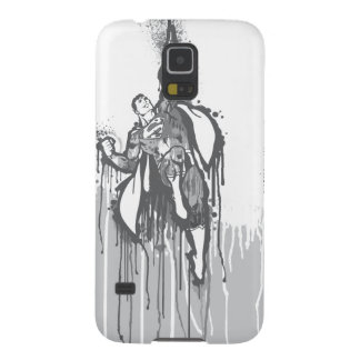 Superman Twisted Innocence Poster BW Galaxy S5 Case