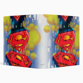 Superman Urban Spraypaint Vinyl Binder