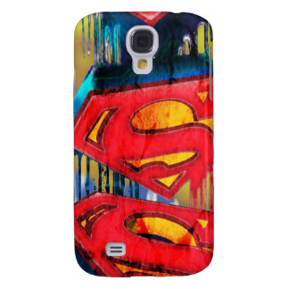 Superman Urban Spraypaint Samsung Galaxy S4 Covers