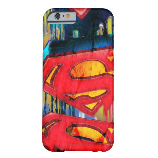 Superman Urban Spraypaint Barely There iPhone 6 Case
