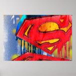 Superman Urban Spraypaint Poster