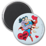Superman Valentine's Day | I'll Catch You Magnet