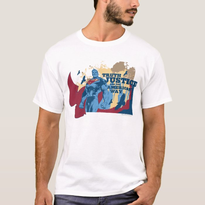 Superman with birds T-Shirt