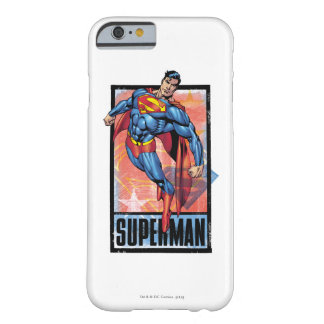 Superman with dark border barely there iPhone 6 case