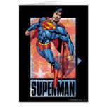 Superman with dark border cards