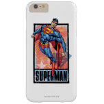 Superman with dark border barely there iPhone 6 plus case