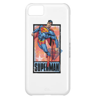 Superman with dark border case for iPhone 5C