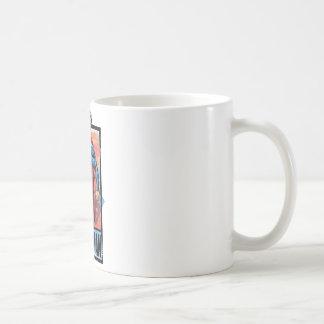 Superman with dark border coffee mug