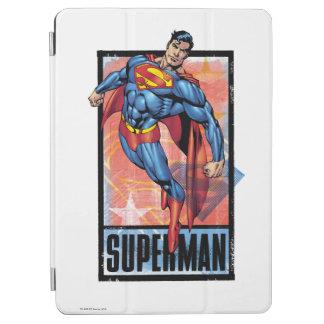 Superman with dark border iPad air cover