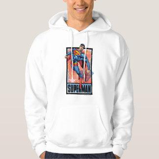 Superman with dark border sweatshirt