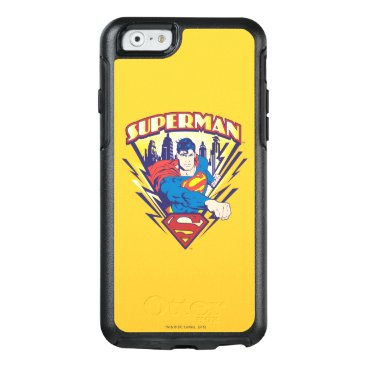 Superman with Electricity OtterBox iPhone 6/6s Case