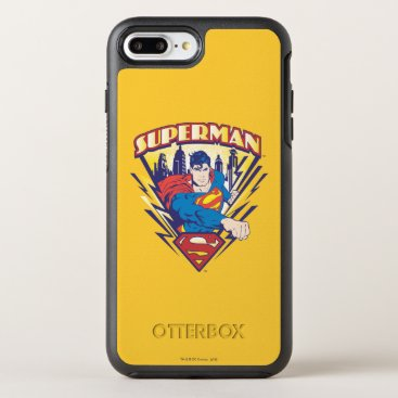 Superman with Electricity OtterBox Symmetry iPhone 8 Plus/7 Plus Case