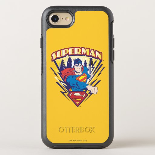 Superman with Electricity OtterBox Symmetry iPhone SE/8/7 Case
