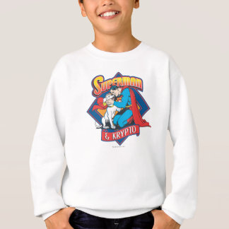 Superman with Krypto Sweatshirt