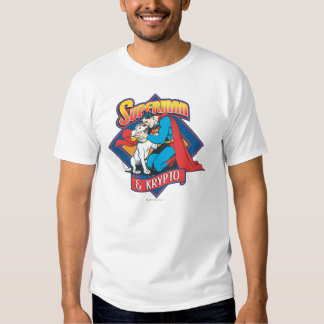 Superman with Krypto T Shirt