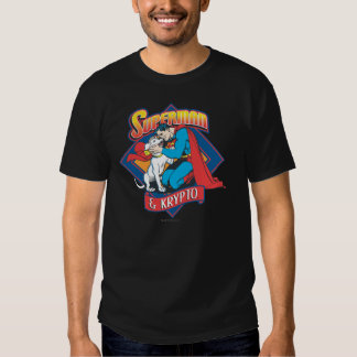 Superman with Krypto Tee Shirt
