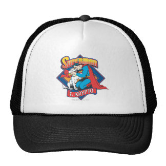 Superman with Krypto Trucker Hat