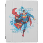 Superman with Logo 2 iPad Cover