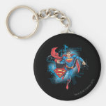 Superman with Logo Key Chain