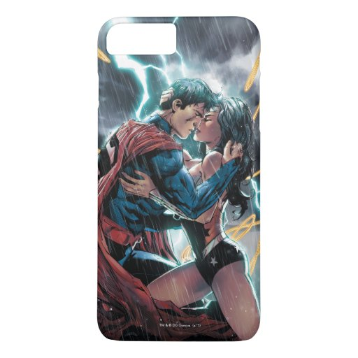 Superman/Wonder Woman Comic Promotional Art iPhone 8 Plus/7 Plus Case