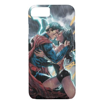 Superman/Wonder Woman Comic Promotional Art iPhone 8/7 Case