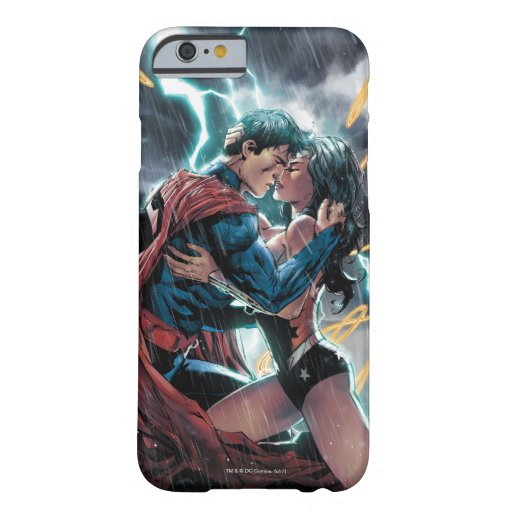 Superman/Wonder Woman Comic Promotional Art Barely There iPhone 6 Case