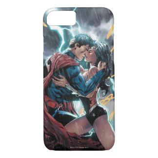 Superman/Wonder Woman Comic Promotional Art iPhone 7 Case