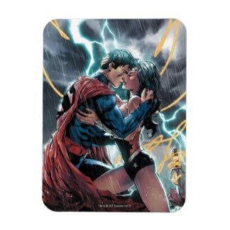 Superman/Wonder Woman Comic Promotional Art Magnet