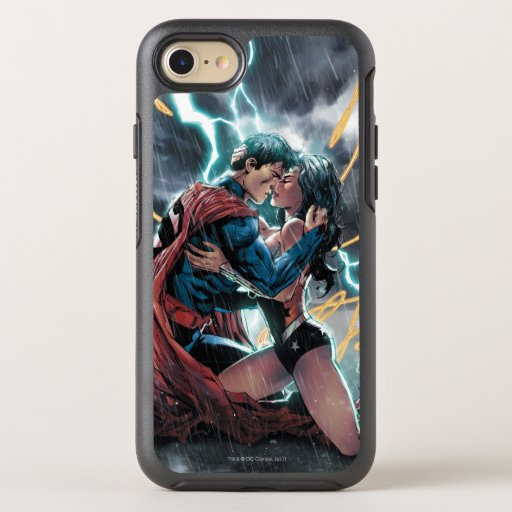 Superman/Wonder Woman Comic Promotional Art OtterBox Symmetry iPhone SE/8/7 Case