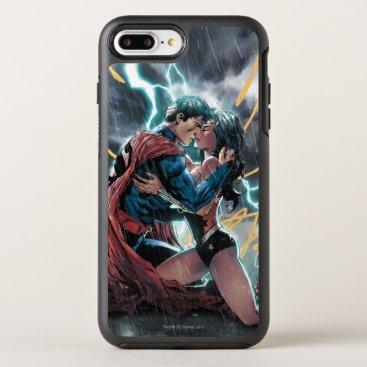 Superman/Wonder Woman Comic Promotional Art OtterBox Symmetry iPhone 8 Plus/7 Plus Case
