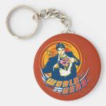 Superman World Hero Keychain