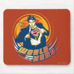 Superman World Hero Mouse Pads