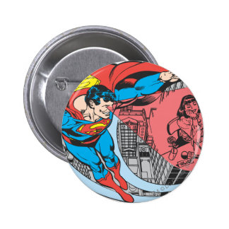 Superman X-Ray Vision Pinback Button