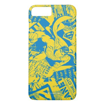 Superman Yellow and Blue iPhone 8 Plus/7 Plus Case