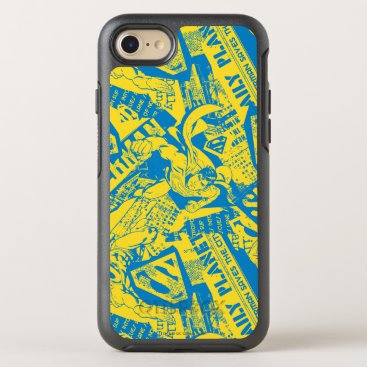 Superman Yellow and Blue OtterBox Symmetry iPhone 8/7 Case