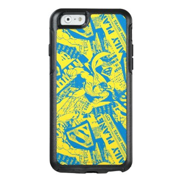 Superman Yellow and Blue OtterBox iPhone 6/6s Case