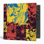 Superman Yellow and Red Binder