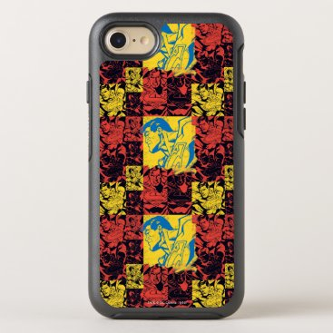 Superman Yellow and Red OtterBox Symmetry iPhone 8/7 Case
