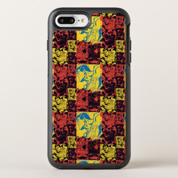 Superman Yellow and Red OtterBox Symmetry iPhone 8 Plus/7 Plus Case