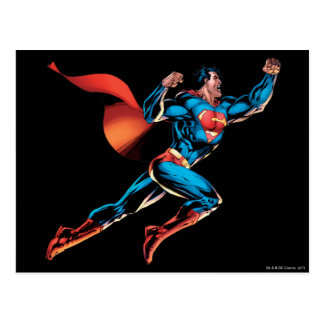 Superman Yells Postcard