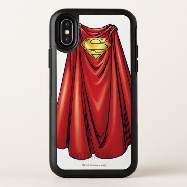 Superman's Cape OtterBox Symmetry iPhone X Case