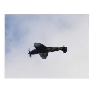 Supermarine Spitfire Mid victory Roll Postcard