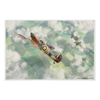 Supermarine Spitfire Mk.1 Poster