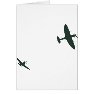 Supermarine Spitfires Card