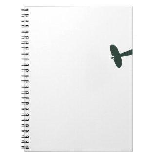 Supermarine Spitfires Spiral Notebooks