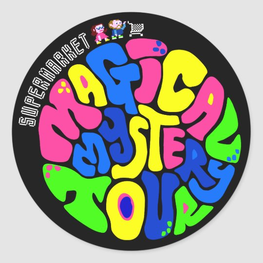 Supermarket - Magical Mystery Tour Sticker