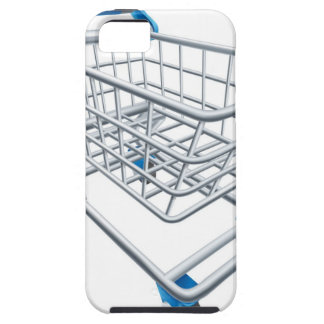 Supermarket shopping cart trolley iPhone 5 cover